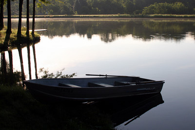 The rowboat - Chagrin Falls, OH ... July 4, 2009