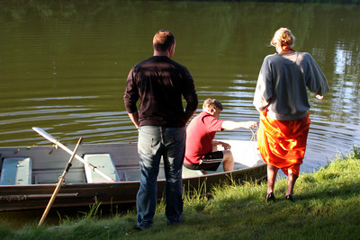 Heather & John: Boat Practice