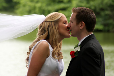 The newlyweds - Chagrin Falls, OH ... July 4, 2009