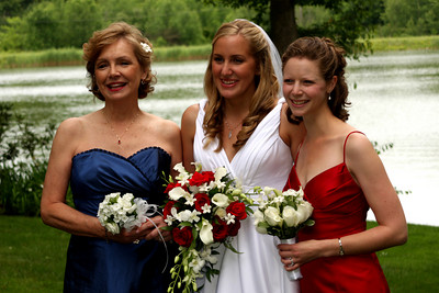The girls - Chagrin Falls, OH ... July 4, 2009