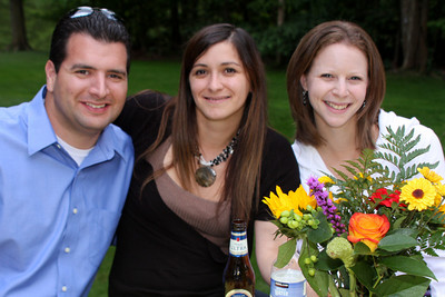 Dave, Maria, and Emily - Chagrin Falls, OH ... July 3, 2009