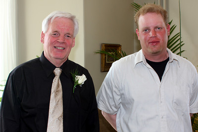 At Heather and John's wedding shower - Cobourg, ON ... April 25, 2009 ... Photo by Rob Page Jr.
