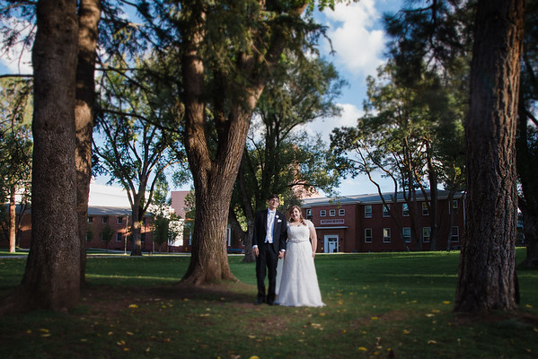 Heather and Jon | NAU Wedding | Flagstaff