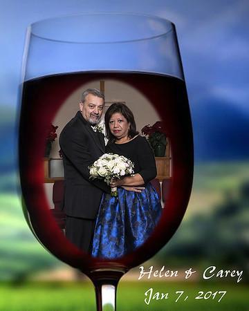 Helen & Carey`s Wedding 1-7-17