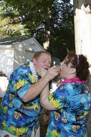 Helen & Jon Wedding - Cake
