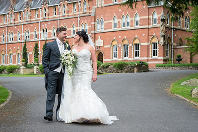 Helen & Leigh at Stanbrook Abbey
