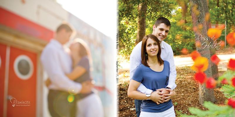 Helene & Ross Engagement Book00 cover2