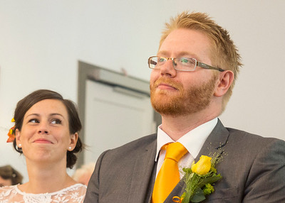 Bride & Groom. How she looks at him. <3