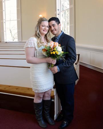Emily & Gabriel's wedding and dedication of Thiago