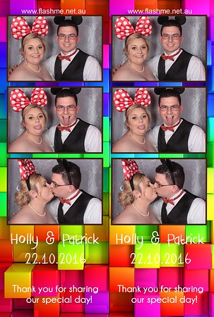 Holly & Patrick's Wedding - 22 October 2016
