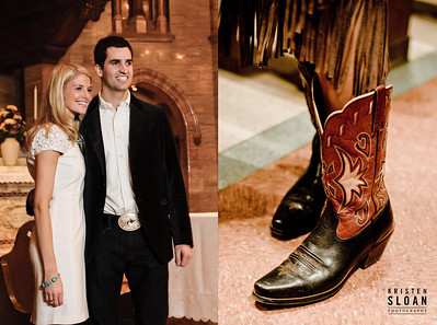 Cowboy Boots Wedding Denver