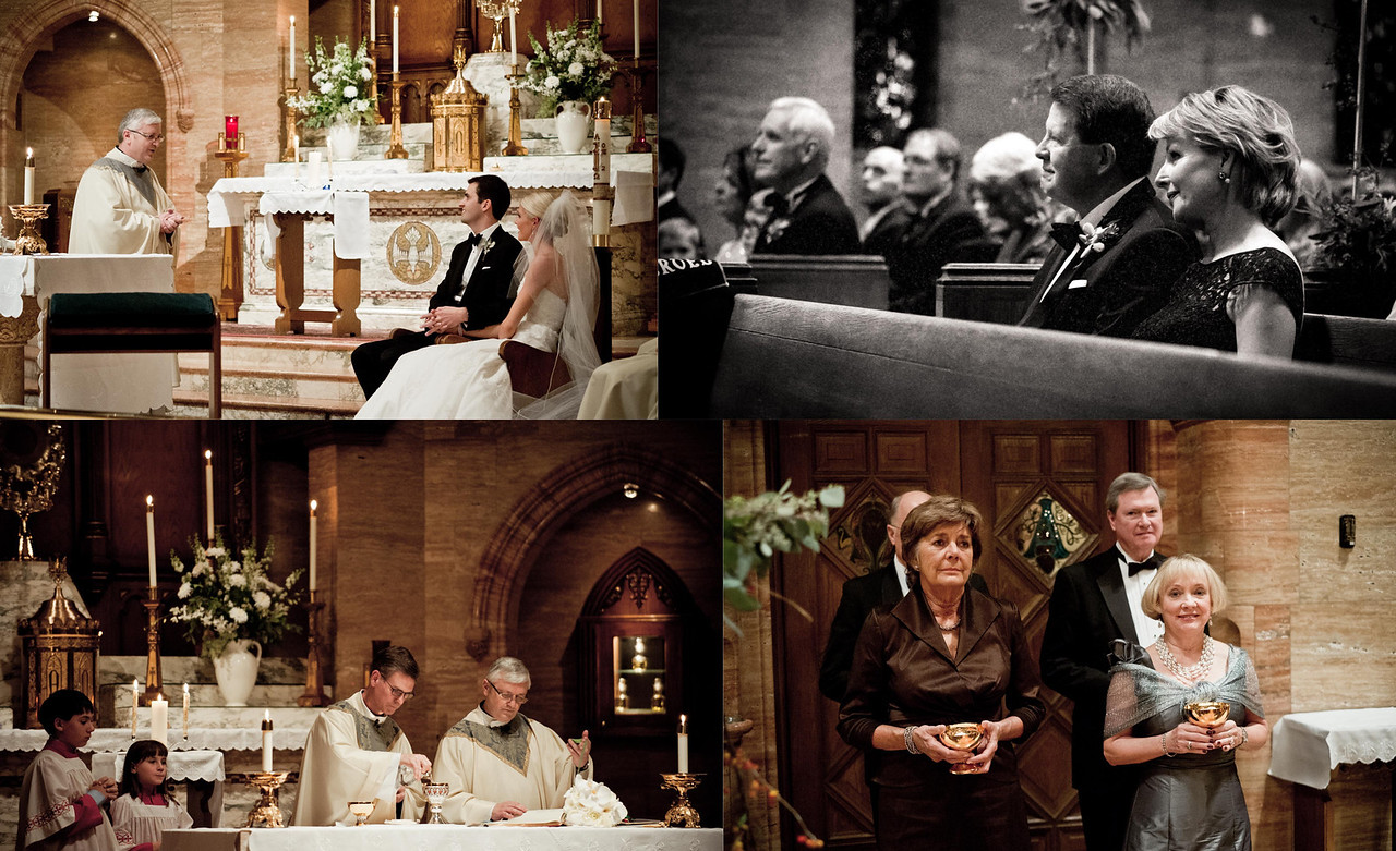 holy ghost wedding catholic mass