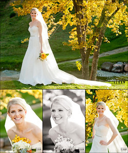 Denver Country Club Bridal Portrait