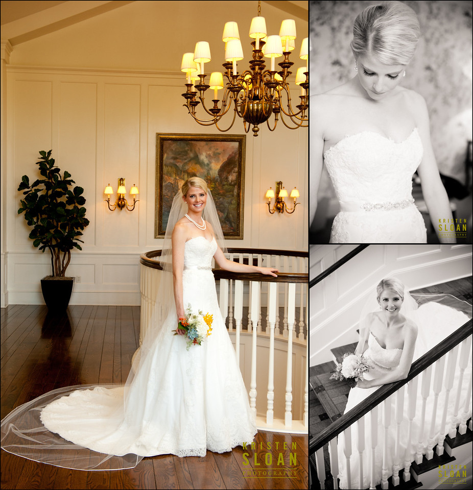 Bridal Portraits Denver Country Club