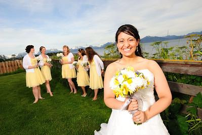 Homer Wedding at the Driftwood Inn