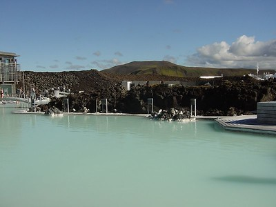 View over the Blue Lagoon
