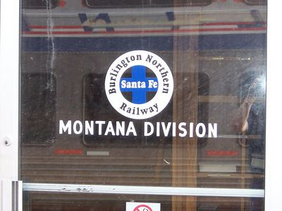Station stop - Montana
