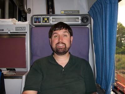 Chillin on the train