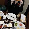 Excellent breakfast spread in Buenos Aires