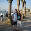 Enjoying the Malecon before it got crowded.