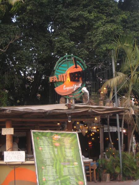 Our favorite restaurant in PV.  Fajita Republic - we love you!