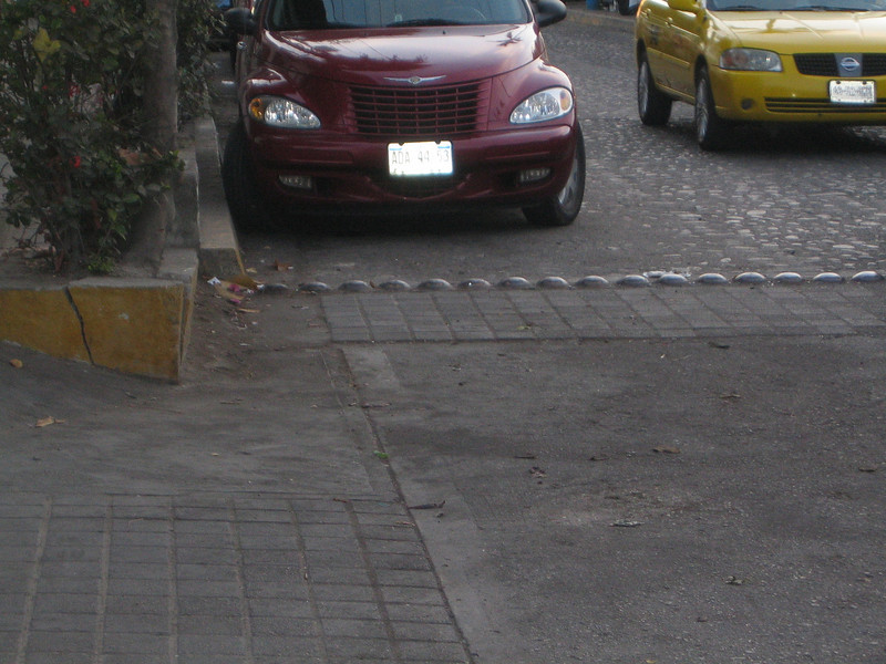 Mexican speed bumps.  Super annoying, but you gotta love 'em.