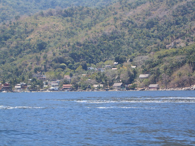 Arriving in Yelapa.