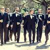 groom and groomsmen at Stanford University