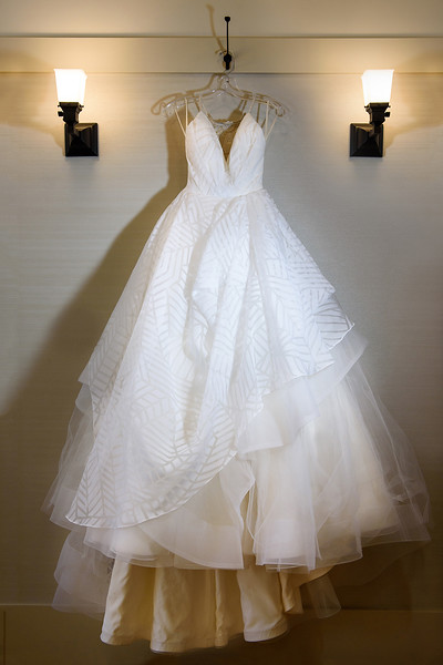wedding dress at Saratoga Foothill Club