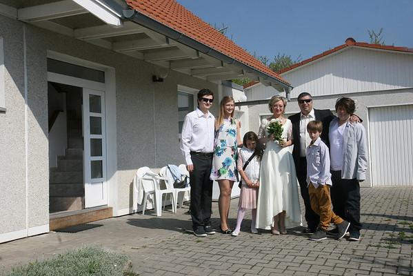 IdyllicPrague.com Wedding of Alona and Ronen at Cherry Tree Cottage