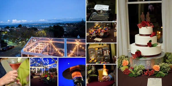 The best photos taken at Hannah and Graham's wedding at The Perry House in Monterey, California