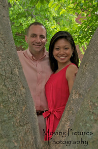 Irene & Joe - University of Kentucky campus