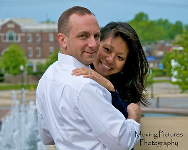 Irene & Joe - downtown Lexington, Kentucky