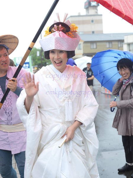 Itako Wedding Procession and iris festival (the Itako Ayame Matsuri