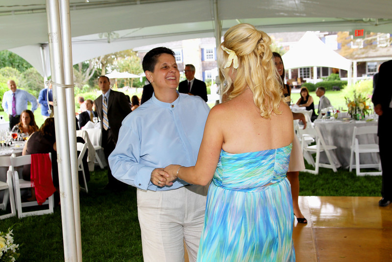Water Mill, NY - September 11:  Dinner/Reception at the wedding of Joel and Gregg at Private Residence on Sunday, September 11, 2011 in Water Mill, NY.  (Photo by Steve Mack/S.D. Mack Pictures)