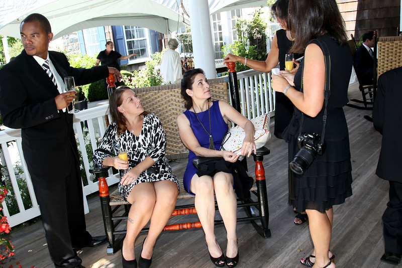 Water Mill, NY - September 11:  Candids and Cocktails at the wedding of Joel and Gregg at Private Residence on Sunday, September 11, 2011 in Water Mill, NY.  (Photo by Steve Mack/S.D. Mack Pictures)