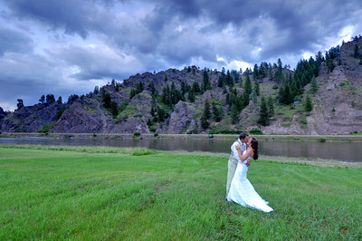 JP & Teal by the Missouri River, Craig Montana Photography by Jim R Harris Bozeman Montana