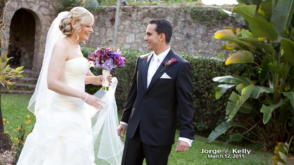 jorge and kelly wedding video