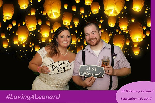 JR and Brandy Leonard Wedding