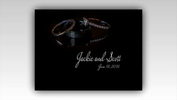 Jackie and Scott Wedding Show
