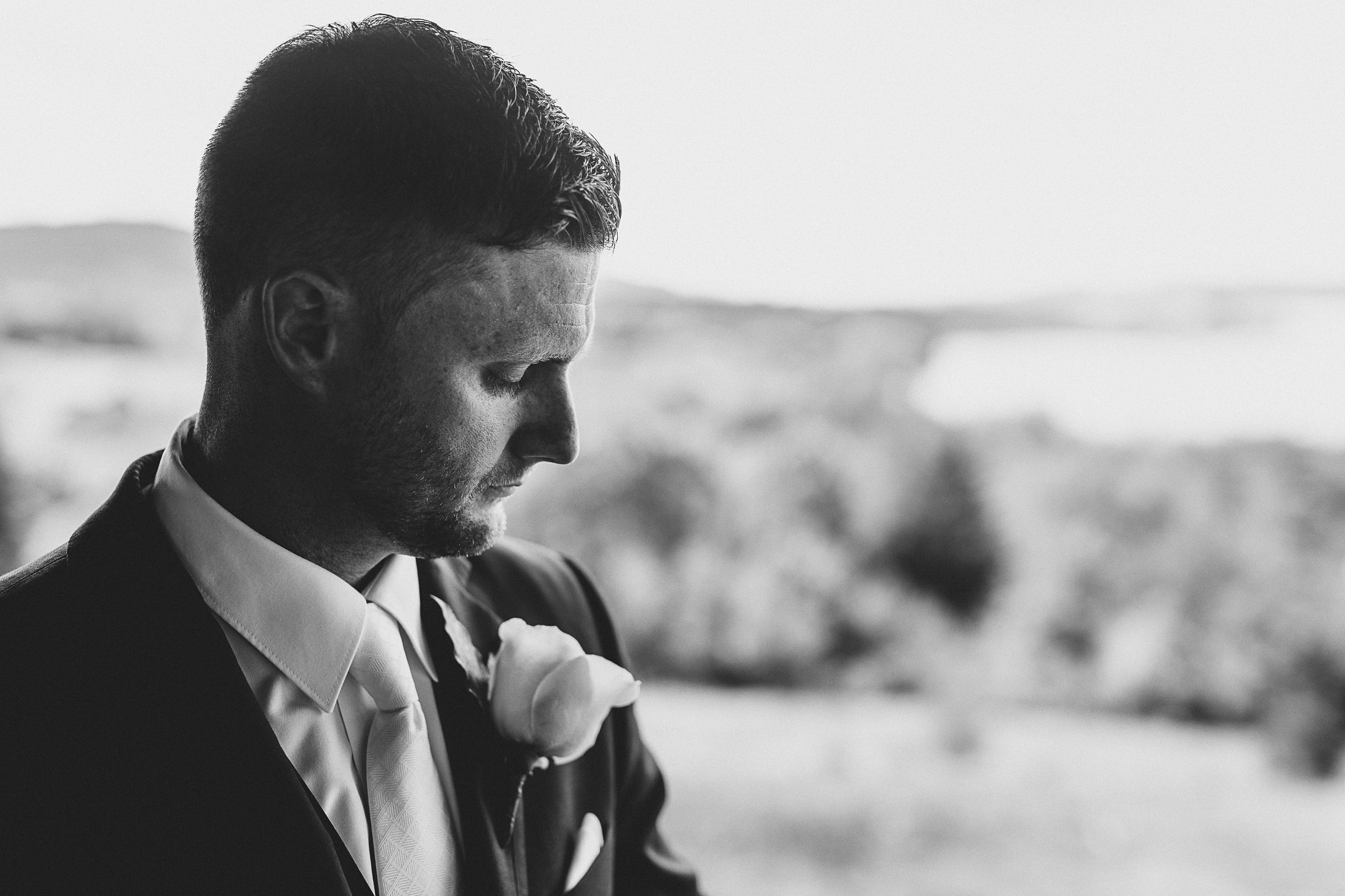Jake - black and white wedding