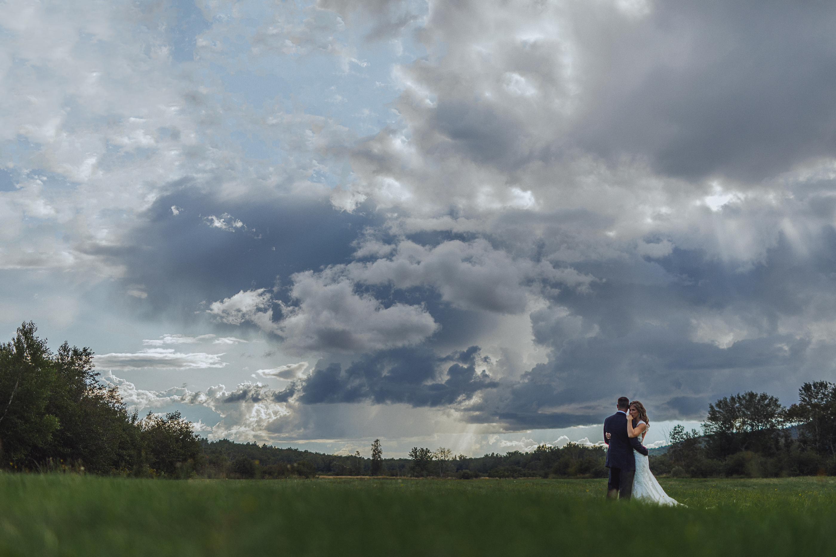Wedding clouds