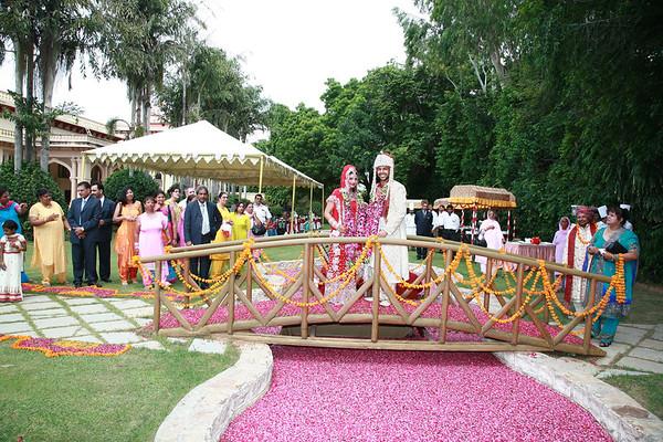 Jaimaala (Rambagh Palace, 26th August 2006)