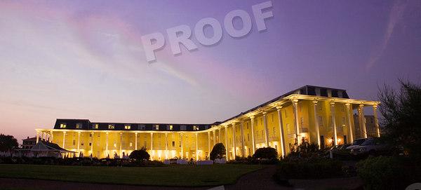 Congress Hall at night