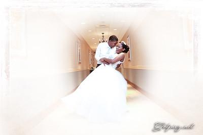Jalisha and Rayquan's Wedding August 14 2016