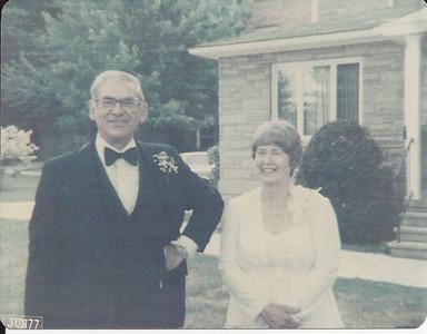 Mom & Dad Cerne at Jan & John's Wedding 6/25/1977