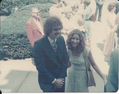 Jane & Greg at Jan & John's Wedding 6/25/2977
