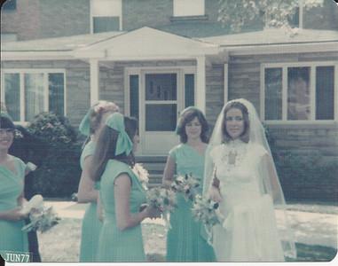 Jan & John's Wedding 6/25/1977