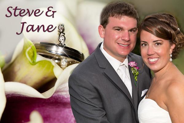 Jane and Steve Wedding