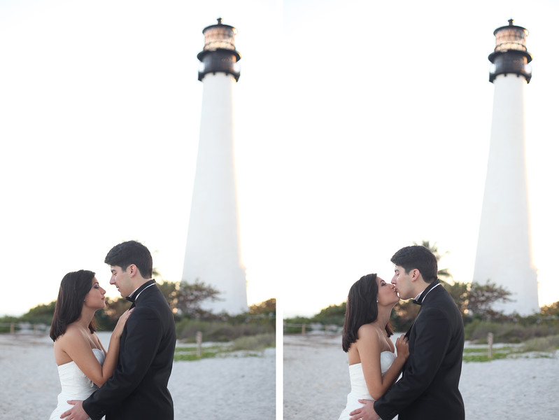 Miami wedding lighthouse bill baggs